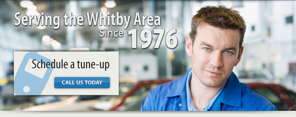 serving the whitby area since 1976. schedule a tune up - call us today